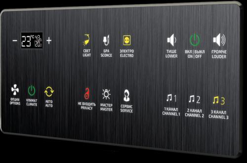 Дизайн интерфейса управления