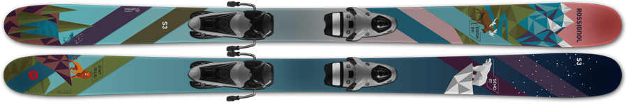 Индивидуальный дизайн лыж